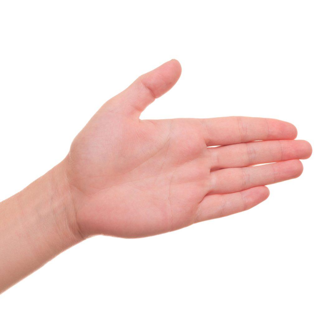 Mão da venosa palma trombose na profunda